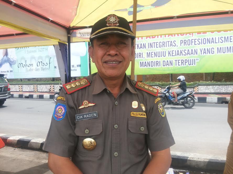 Anggota Satpol PP Bandar Lampung Protes Uang Makan yang Tak Kunjung Dibayar