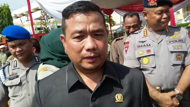 Ketua DPRD Lampung Dedy Afrizal. | Sugiono/Jejamo.com