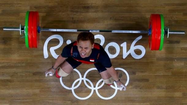Eko Yuli Irawan Atlet Asal Kota Metro Persembahkan Medali Perak di Olimpiade Rio 2016
