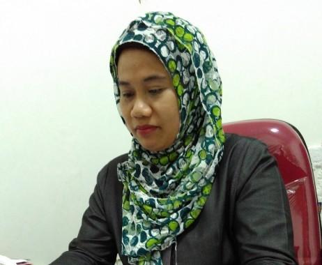Komisioner KPU Bandar Lampung Fadilasari. | Andi Apriyadi/Jejamo.com