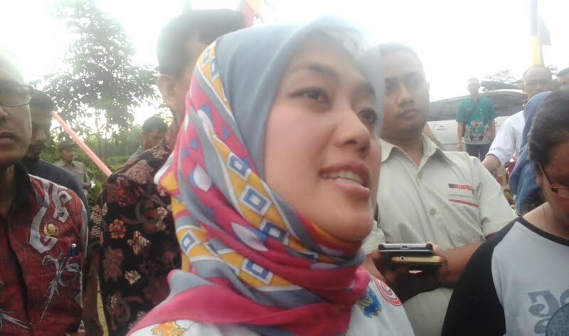 Bupati Lampung Timur Chusnunia Chalim | Adian/jejamo.com