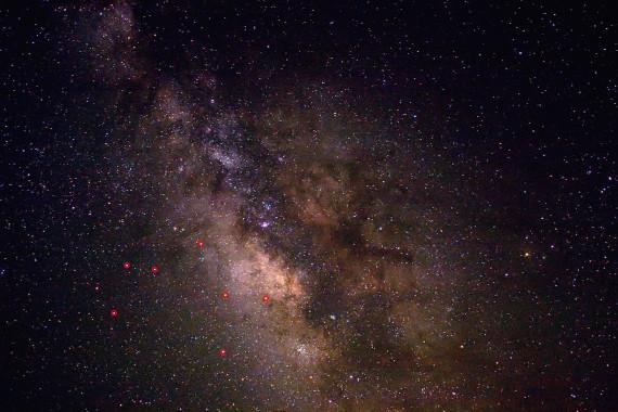 Malam Langit Gelap, Status Netizen Lampung Banyak Soal Galaksi Bima Sakti