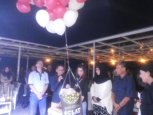 Kafe Eclat Sky Garden Hotel Grand Praba, Lokasi Bagus Lihat Seputar Bandar Lampung