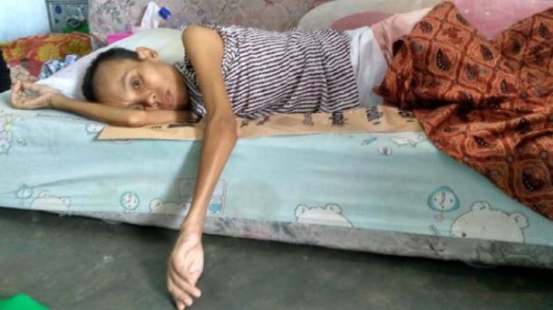Yuk Bantu Ibu Kurnia Penderita Kanker Otak di Bandar Lampung, Sehari-Hari Numpang di TPA
