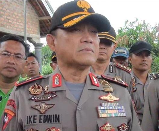 Kapolda Lampung Brigjend Ike Edwin | ist