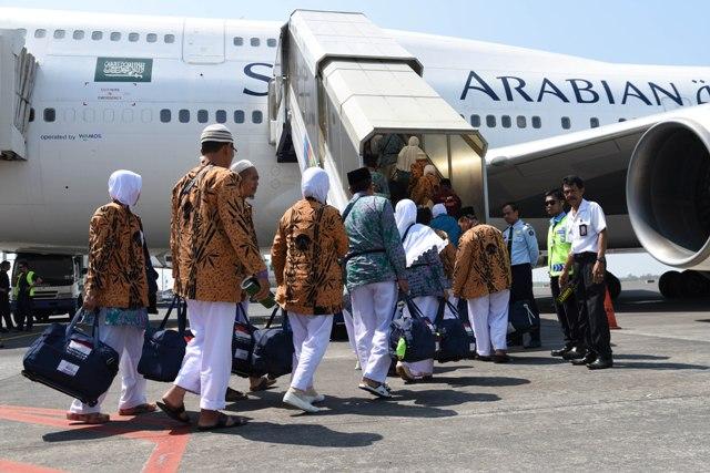 Keberangkatan Calon Jamaah Haji Lampung ke Tanah Suci Dimulai 13 Agustus