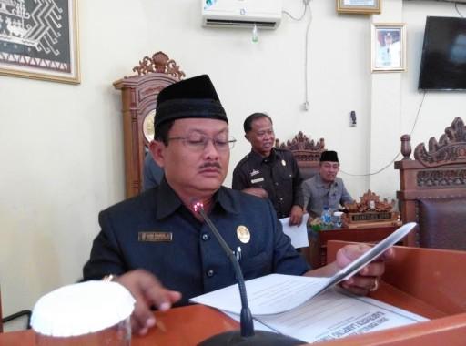 Joko Purnomo, Ketua Fraksi PDI-P DPRD Lampung Timur | Parman/jejamo.com