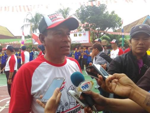 Lomba 17-an di Lapas Rajabasa Diharapkan Mampu Meningkatkan Rasa Aman