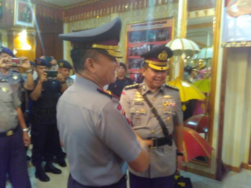 Kapolda Lampung Ucapkan Terimakasih Atas Kontribusi Kombes Bonifasius Tampoi