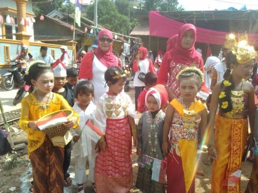 Gubernur Lampung Ridho Ficardo Pimpin Upacara HUT Ke-71 RI