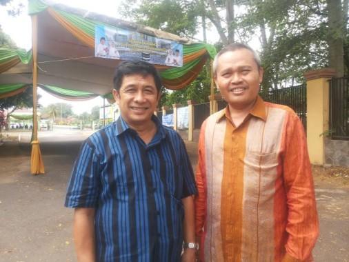Direktur Pelayanan Haji Dalam Negeri Kemenag Ahda Barori (kiri) | Sugiono/jejamo.com
