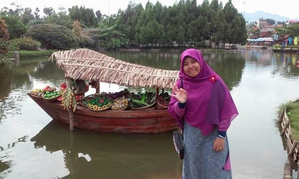 Ketua FLP Wilayah Lampung Destiani. | Ist