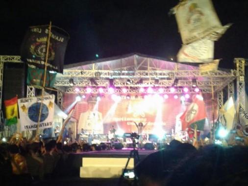 Slank Hibur Pesta Rakyat dari Lampung untuk Indonesia di Lapangan Saburai