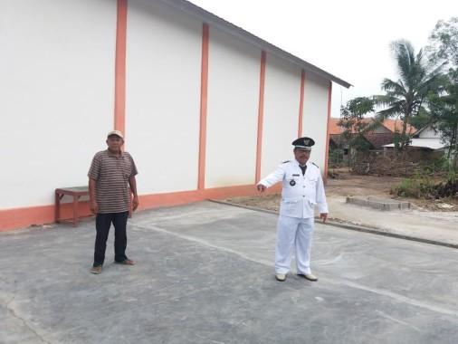 Lapangan Jemur Padi