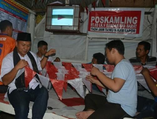 Lomba Memperingati HUT Ke 71 RI di Lapas Rajabasa Berlangsung Meriah