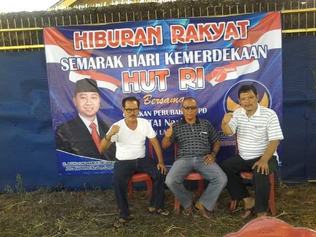 Lozi Darwin, Sekretaris DPD (kiri), didampingi H Aslan Salim Ketua Bapilu DPD dan Baqi Indra Cane Wakil Ketua DPD | Buhairi/jejamo.com