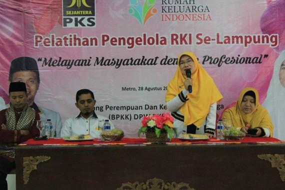 Ini yang Dilakukan PKS Lampung Optimalkan Rumah Keluarga Indonesia
