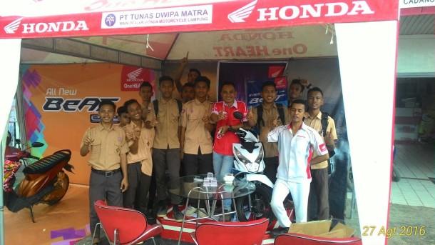 Peluncuran New Honda BeAT eSP di TDM Kotagajah Lampung Tengah Meriah