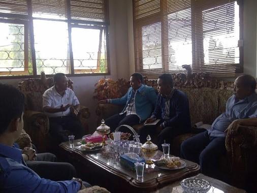 Penguatan Kerjasama, KNPI Lampung Timur Kunjungi DPRD Setempat