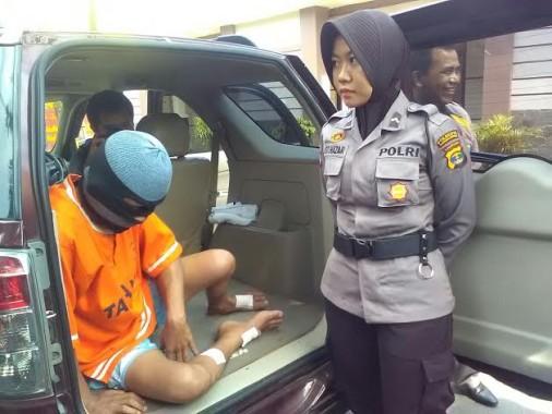 Penjambret yang Biasa Beroperasi di Bandar Lampung Ditangkap di Jatiagung