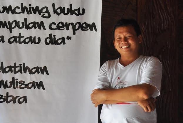 Sulistyohadi, seorang penulis buku, mantan jurnalis, dan kini menjadi birokrat di Dinas Kominfo, Kabupaten Tulang Bawang Barat | ist