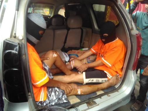 Inilah Modus Perampok Nasabah Bank Kempes Ban di Bandar Lampung Beraksi