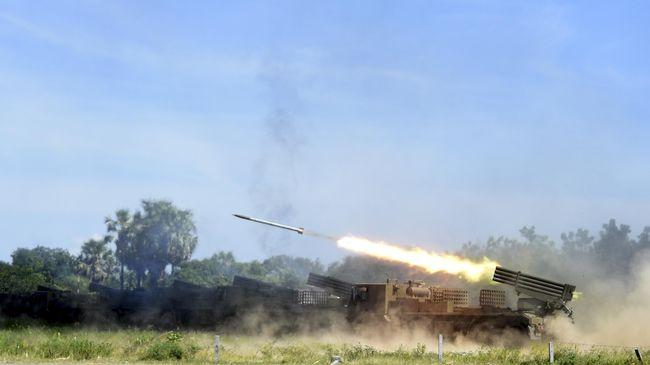 TNI AL Tempatkan Delapan Peluncur Roket Buatan Ceko di Situbondo