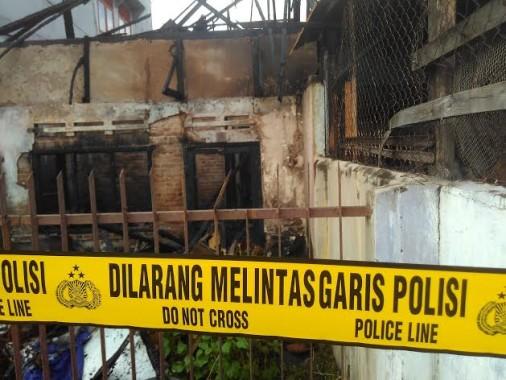 Rumah milik Amsiong Terbakar