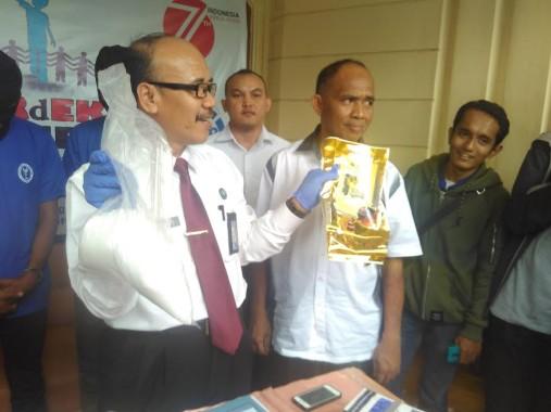 Breaking News: BNN Lampung Gagalkan Penyelundupan 1 Kilogram Sabu-Sabu asal Aceh