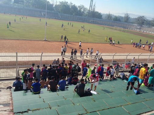 Minggu Sore 2 Tim Seleksi Sakai Sambayan Lampung FC Diadu di Stadion Sumpah Pemuda