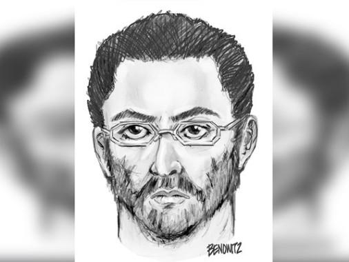 Sketsa wajah Penembakan