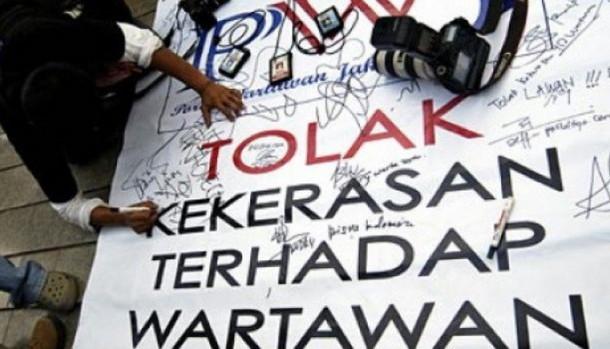 3 Organisasi Jurnalis Lampung Kecam Kekerasan Terhadap Wartawan di Medan