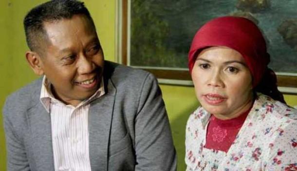 Tukul Arwana dan istrinya Susiana