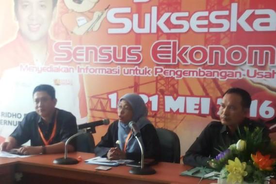 Kepala BPS Provinsi Lampung Yeane Irmaningrum | Sugiono/jejamo.com
