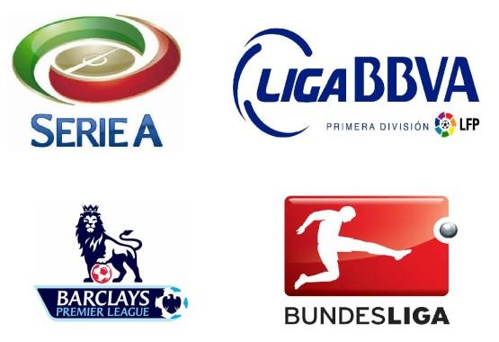 Liga-liga top Eropa. | ist.