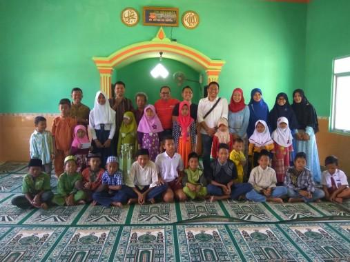 Gandeng PKPU Lampung, Jejamo.com Syukuran Milad Pertama di Masjid Mualimin