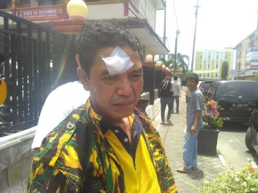Komandan Satgas AMPG Jadi Korban Pemukulan di Kantor DPD Golkar Lampung