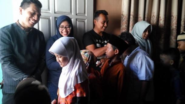 Anak-anak di Sanggar Genius Utsman bin Affan yang dikelola Yatim Mandiri Lampung. | Ist