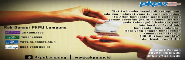 Sedekah PKPU Lampung