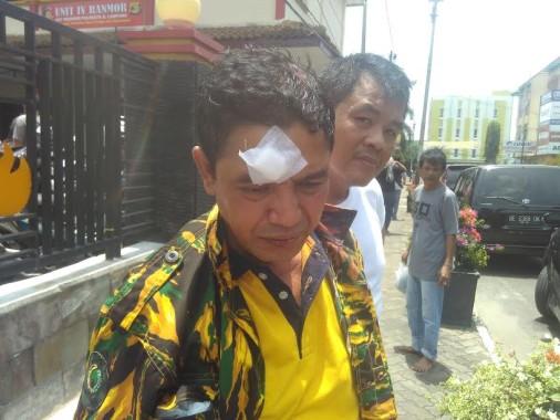 Ketua Satuan Petugas Angkatan Muda Partai Golkar (AMPG) Fasni Bima |jejamo.com