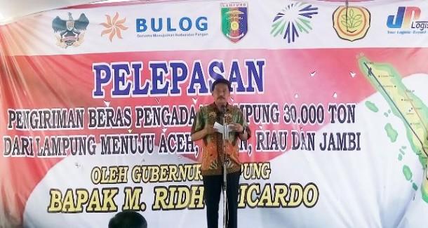 Bulog Lampung Cetak Rekor Baru Penerimaan Beras dari Petani
