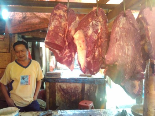 Pedagang Daging di Pasar SMEP Bandar Lampung Ogah Jual Daging Kerbau Impor Meski Lebih Murah