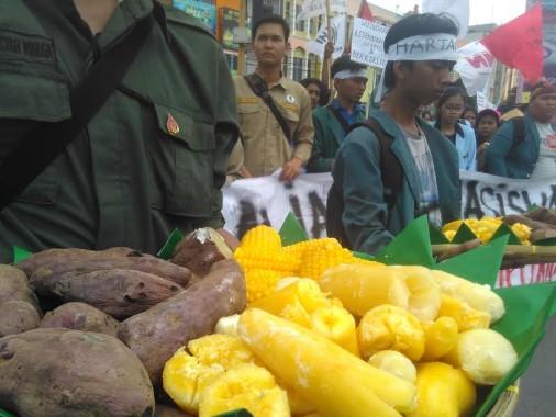 Demo Hari Tani, LBH Bandar Lampung: Reforma Agraria Gagal