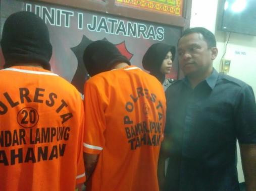 Jambret Makin Merajalela di Bandar Lampung, Polresta Berhasil Tangkap Dua Pelaku