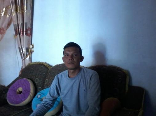 Kepala Desa Cabang Abung Raya Kecamatan Abung Selatan Herdianto. | Mukaddam/Jejamo.com