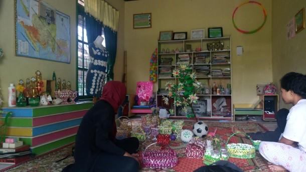 Kampung Hijau, Daerah Percontohan Ekonomi Kreatif yang Butuh Perhatian Lebih