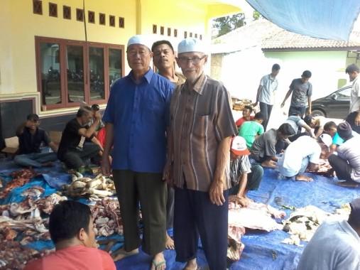 LDII Lampung Utara Sembelih 46 Sapi, Warga Sekitar Kebagian 1 Kg