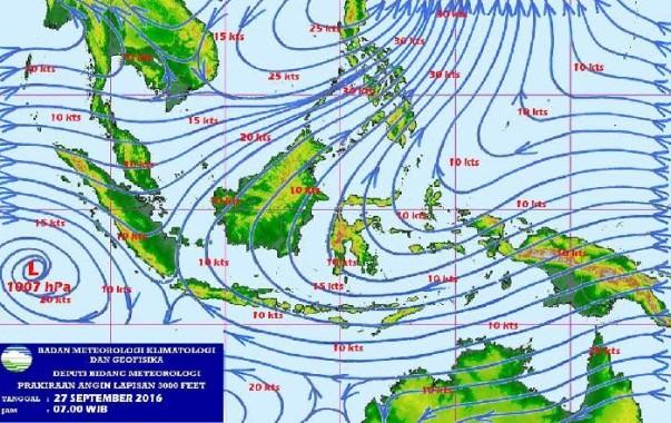 Seluruh Wilayah Lampung Berpotensi Hujan Malam Nanti