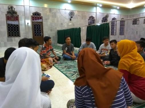 Remaja Islam Masjid (Risma) Baiturrahman, Beringin Raya, Bandar Lampung. | Arif Surakhman/Jejamo.com