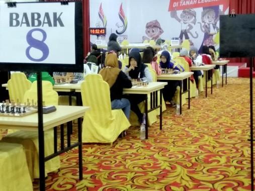 Gagal Raih Medali Catur Klasik Perseorangan Putri PON XIX Jabar, Pecatur Lampung Via: Maaf Ya